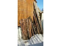 Free - Old fence wood