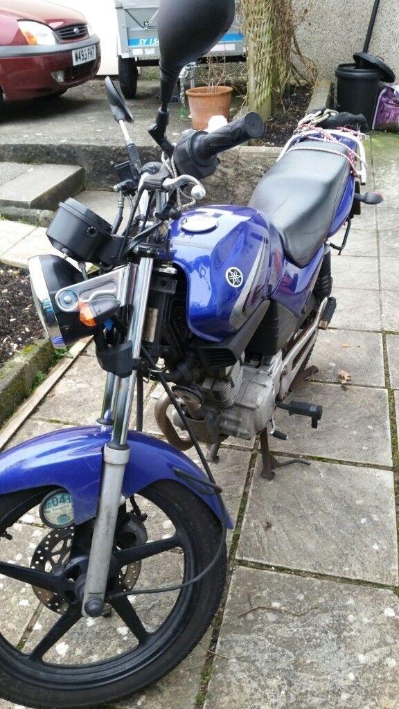 Motorbike Yamaha ybr 125cc