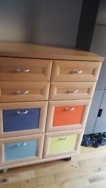 Solid drawers