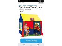 Playhouse tent combo brand new