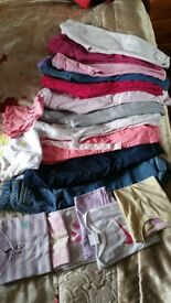 Large girls bundle clothes and shoes 1.5-3 years