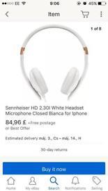 Sennheiser HD 2.3 brand new boxed iphone headset