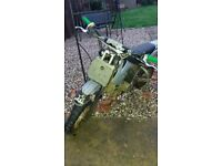 110cc Thumpstar Pitbike