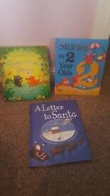 3 x hardback kids books