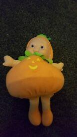 Cute pumpkin doll, ca 20cm