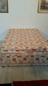 Pending Collection Double Divan Bed with 2+2 Storage Drawers
