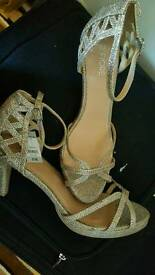 Brand new with tag Party wedding heels women shoes size 8