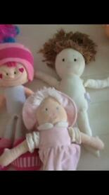 Toy ironing board, Dolls large size or rag dolls teddy, nursery pretend play