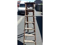 Strong and sturdy Vintage Wooden Step Ladders