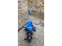 Little Tykes 4 in 1 trike blue
