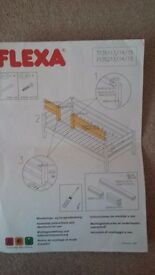 Flexa Classic clear lacquer divided safety rail