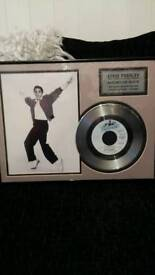 Elvis presley collectors piece
