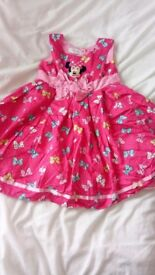 Disney store frilly dress