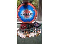 Bakugan Bundle includes 39 Bakugan, Arena, cards plus 2 storage/carry cases