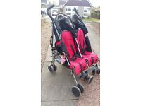 Maclaren Double Buggy (only one brake working)