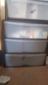 Plastic Storage Unit Drawer
