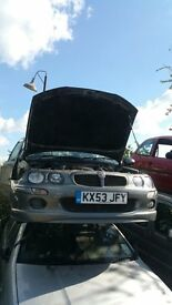 MG ZR+ TD 2003- FOR PARTS ONLY
