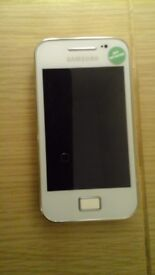 Hi! I have a white Samsung Galaxy Ace GT-S5830i already unlocked for sale.