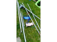 Large metal frame swing 45 0no
