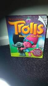 Trolls book of the film excellent condition