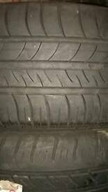 205/60/16 PART WORN TYRES USED TIRES