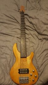 Aria ig-b 68 5 string bass guitar