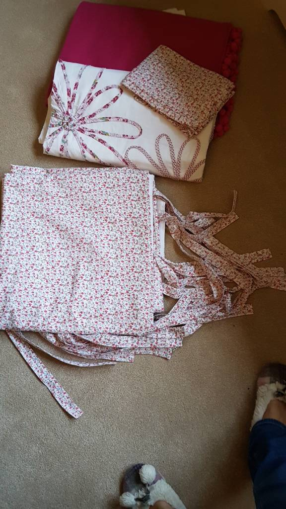 Next shabby chic curtains double duvet set