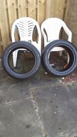 2 x Landsail 255/45/18 99w tyres for sale