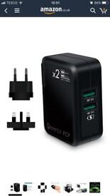 Universal fast travel charger