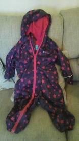 18-24 month waterproof suit