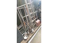 complete aluminium scaffolding tower
