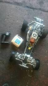 HPI BAJA KING MOTOR 1/5 SCALE 30.5CC PETROL RC CAR
