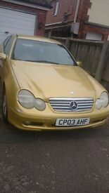 Mercedes C200 Kompressor SE Auto For Sale