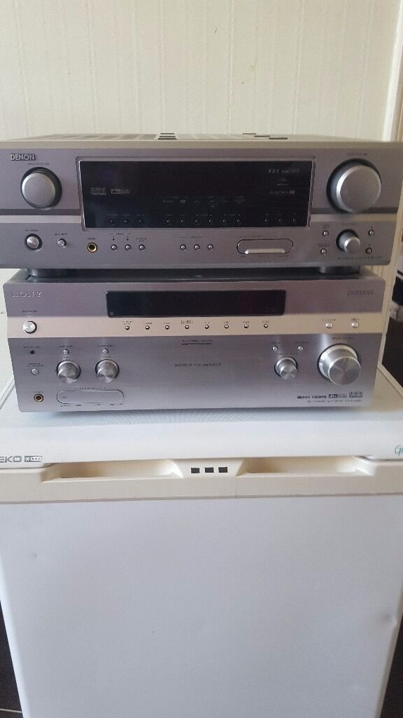 Sony and denom ampsin Westcliff on Sea, EssexGumtree - 2 x house amplifiers no remotes full working please see pictures for model numbers selling for £90 the pair