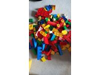Box of duplo lego