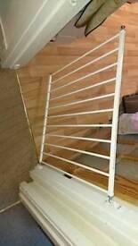 Babydan stair gate no trip screw mounted gate to fit 72 to 78.5 cm gap.
