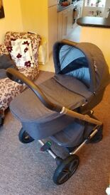 Nuna MIXX Pushchair and Carry Cot - Suited