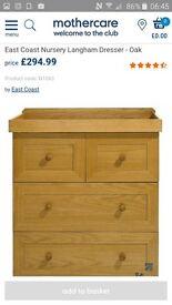 Langham East coast solid oak dresser