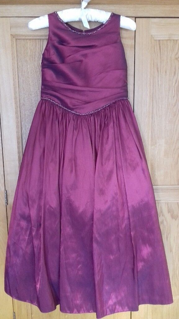 Girls bridesmaid dress - age 10 | in Airdrie, North Lanarkshire ...