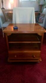Pine Tv Unit / Side Table