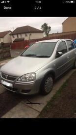 Vauxhall Corsa 1.3 cdti year MOT low miles