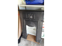 VICTORIAN CAST FIRE SURROUND
