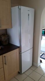 Panasonic fridge-freezer NR-B30FX1. Perfect condition. About five years old. Buyer must collect.