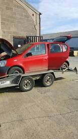 Breaking for spares yaris