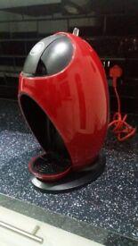 New Red Nescafe Dolce Gusto DeLonghi Coffee Machine.