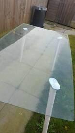 Beautiful glass table