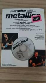 Play Guitar With Metallica book