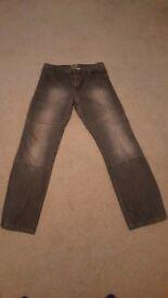 Draggin kevlar motorcycle jeans - size 36