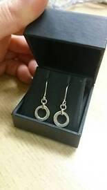 ORTAK Achnabreck Silver Earrings