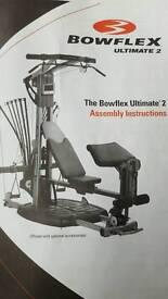 Bowflex ultimate 2 gym